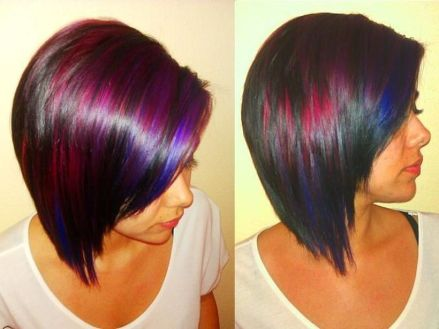 Crazy hair colour ideas for medium and short hair 3
