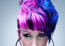 Crazy hair colour ideas for medium and short hair 32