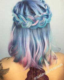 Crazy hair colour ideas for medium and short hair 4