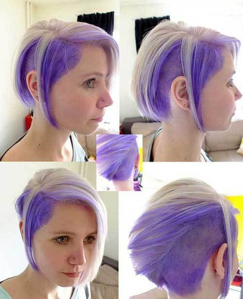 Crazy hair colour ideas for medium and short hair 54