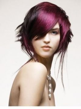 Crazy hair colour ideas for medium and short hair 59