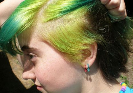 Crazy hair colour ideas for medium and short hair 79