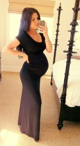 Fashionable maternity outfits ideas for summer and spring 100