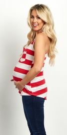 Fashionable maternity outfits ideas for summer and spring 12