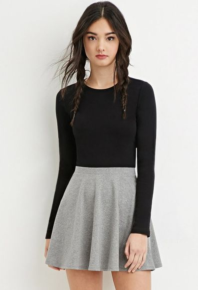 Fashionable skirt outfits ideas that you must try 10