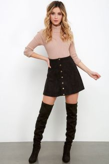 Fashionable skirt outfits ideas that you must try 27
