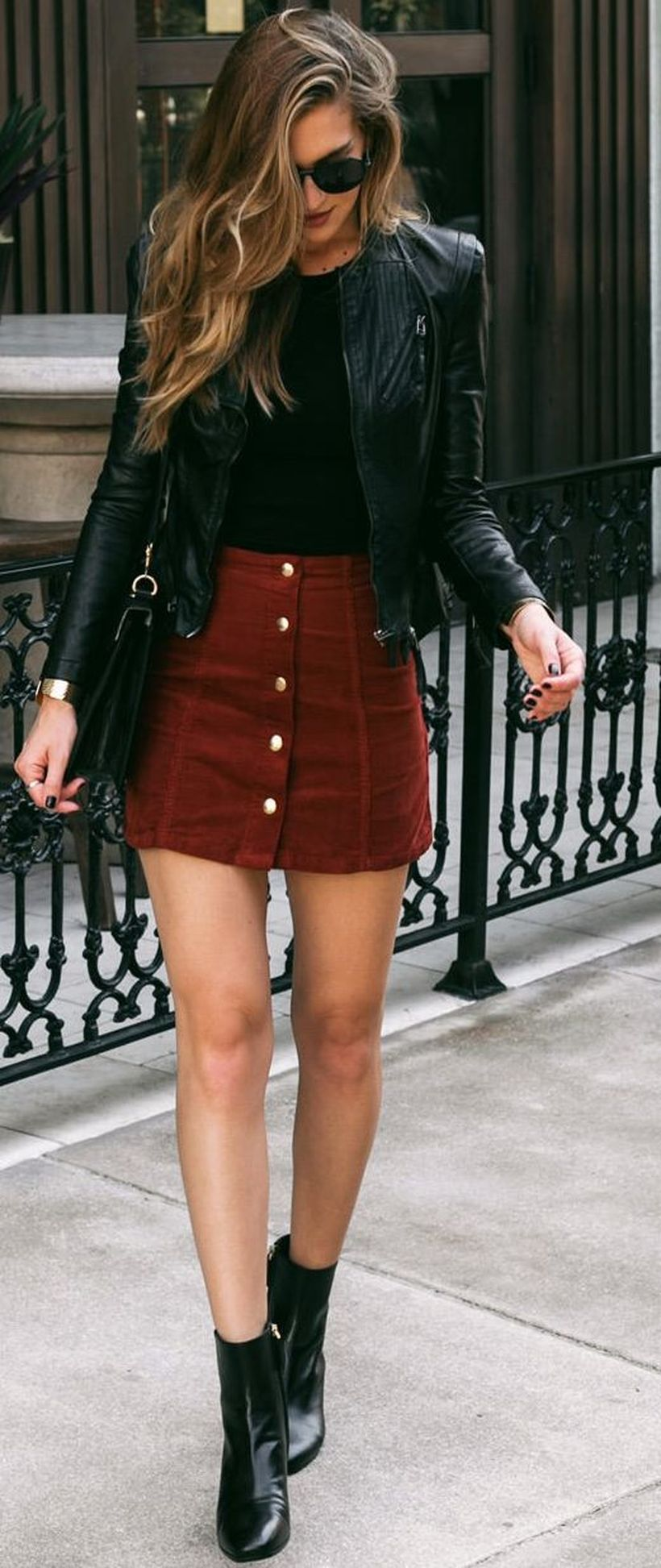 Fashionable skirt outfits ideas that you must try 30