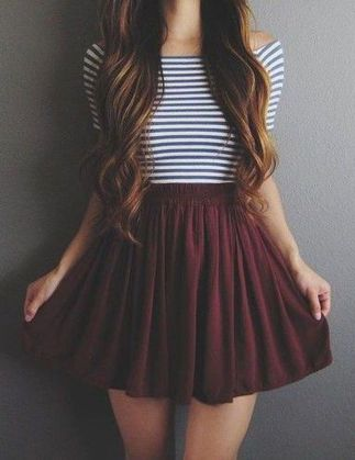 Fashionable skirt outfits ideas that you must try 41
