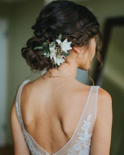 Gorgeous rustic wedding hairstyles ideas 19
