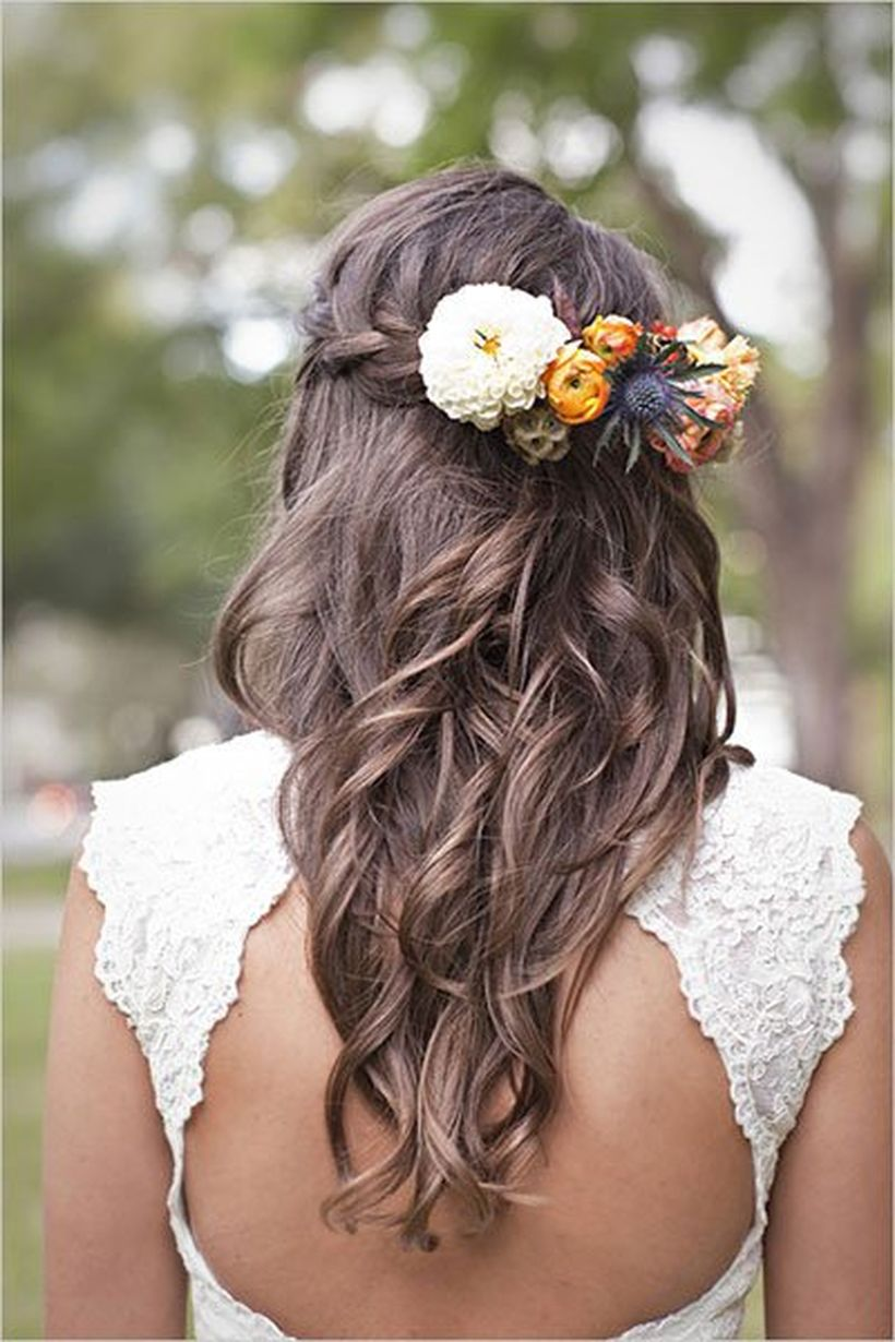 Gorgeous rustic wedding hairstyles ideas 22