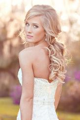 Gorgeous rustic wedding hairstyles ideas 24