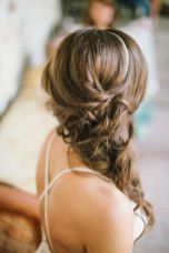 Gorgeous rustic wedding hairstyles ideas 76