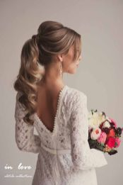 Gorgeous rustic wedding hairstyles ideas 81