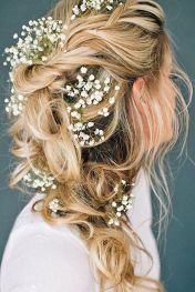 Gorgeous rustic wedding hairstyles ideas 9