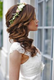 Gorgeous rustic wedding hairstyles ideas 93