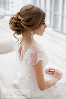 Gorgeous rustic wedding hairstyles ideas 97