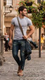 Inspiring casual men fashions for everyday outfits 23