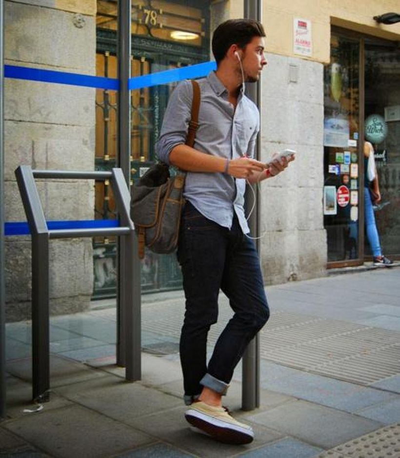 Inspiring casual men fashions for everyday outfits 36