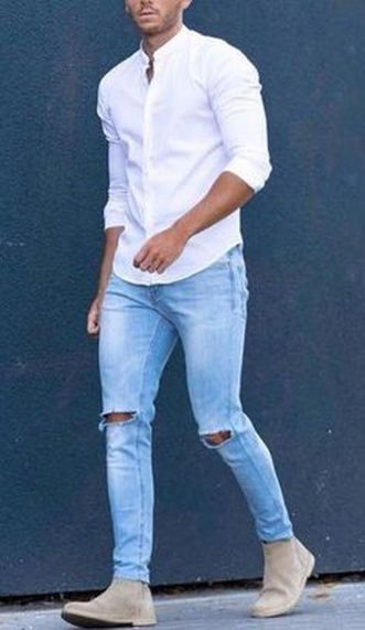 Inspiring casual men fashions for everyday outfits 38