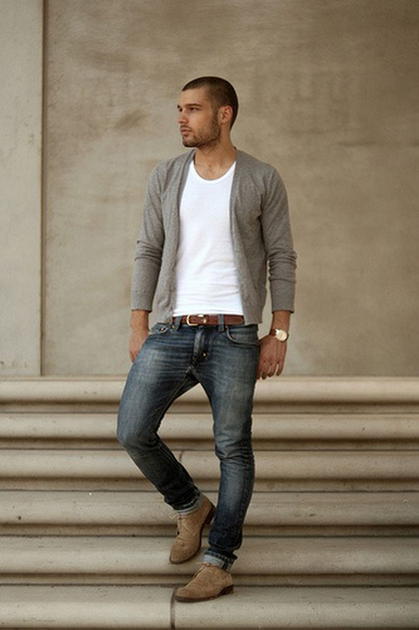Inspiring casual men fashions for everyday outfits 74