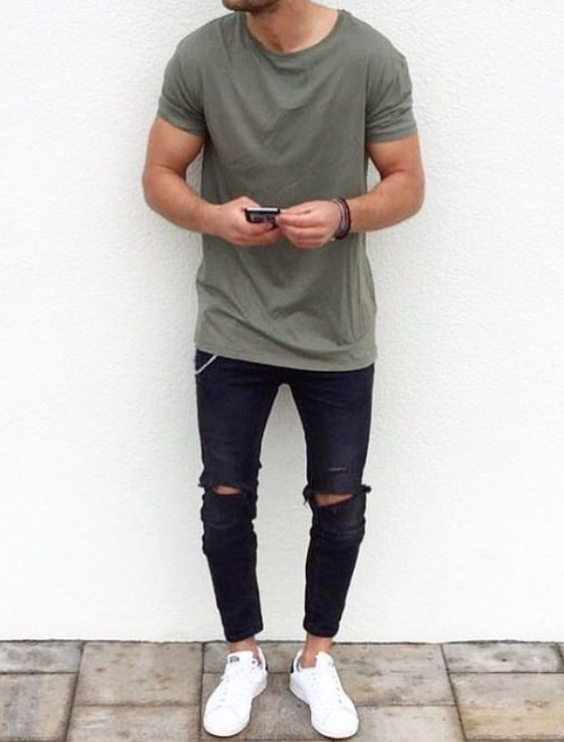 Inspiring casual men fashions for everyday outfits 95