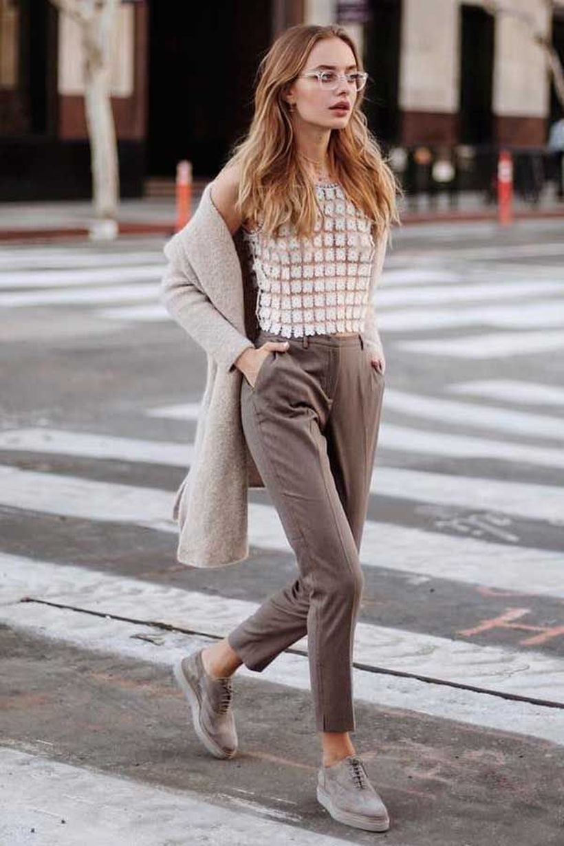 Inspiring simple casual street style outfits ideas 114