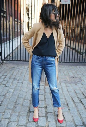 Inspiring simple casual street style outfits ideas 117