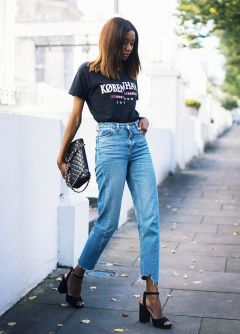 Inspiring simple casual street style outfits ideas 20