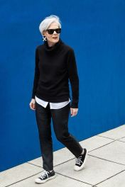 Inspiring simple casual street style outfits ideas 61