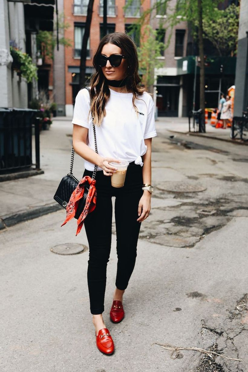 Inspiring simple casual street style outfits ideas 71