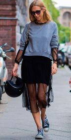 Inspiring simple casual street style outfits ideas 74