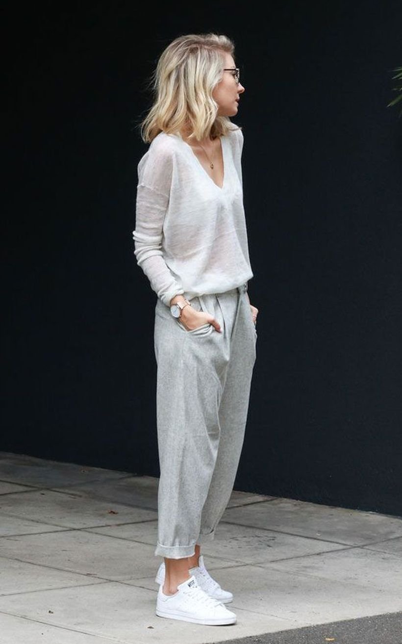 Inspiring simple casual street style outfits ideas 92