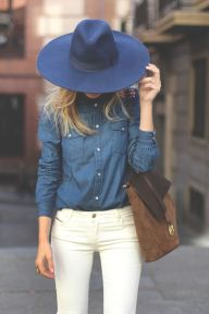 Perfect ways to wear white denim jeans outfits 61