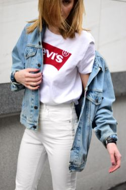 Perfect ways to wear white denim jeans outfits 65