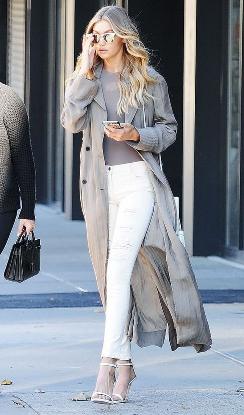 Perfect ways to wear white denim jeans outfits 70