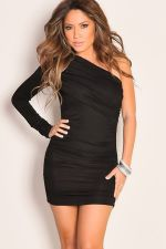 Stunning black short dresses outfits for party ideas 100