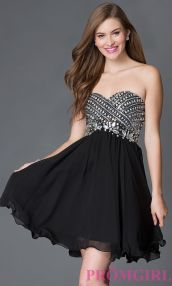 Stunning black short dresses outfits for party ideas 111