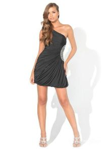 Stunning black short dresses outfits for party ideas 114
