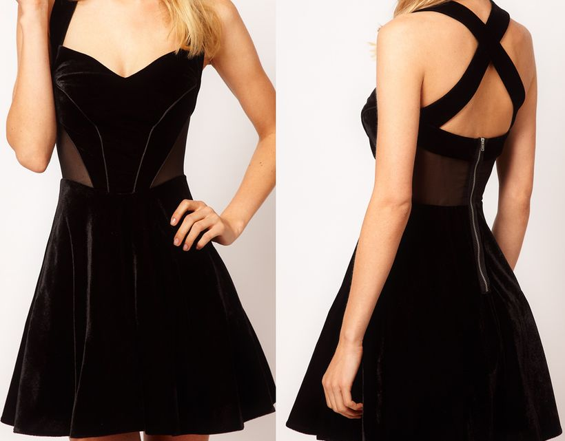 Stunning black short dresses outfits for party ideas 126
