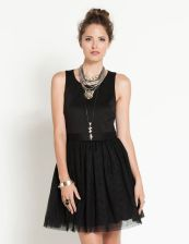 Stunning black short dresses outfits for party ideas 15