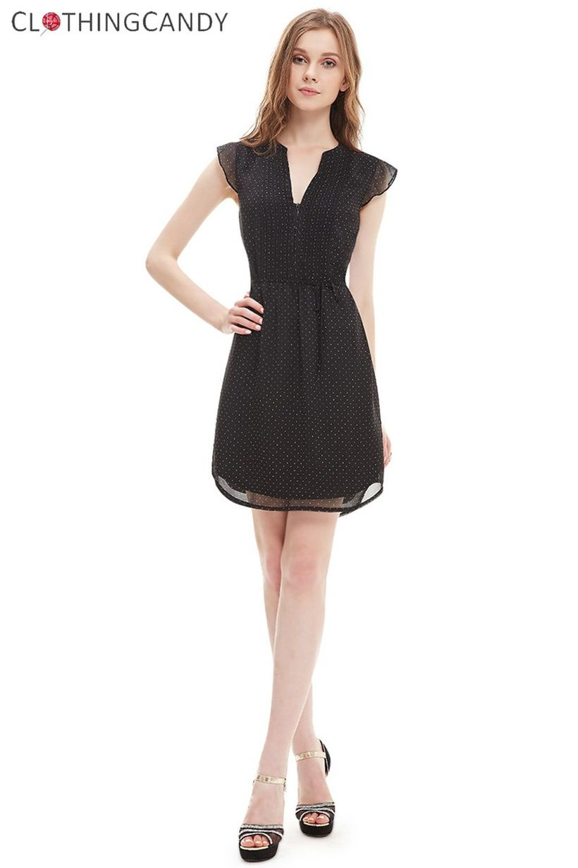 Stunning black short dresses outfits for party ideas 43