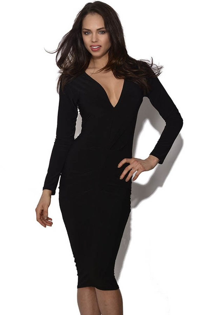 Stunning black short dresses outfits for party ideas 59