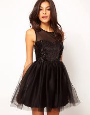 Stunning black short dresses outfits for party ideas 66