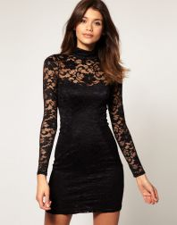 Stunning black short dresses outfits for party ideas 79