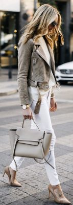 Stylish leather tote bags for work 36