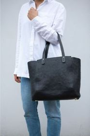 Stylish leather tote bags for work 41