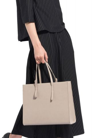 Stylish leather tote bags for work 44