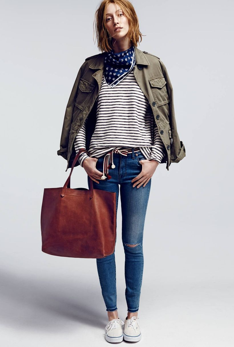 Stylish leather tote bags for work 5