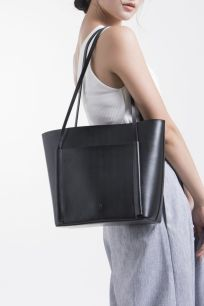 Stylish leather tote bags for work 50