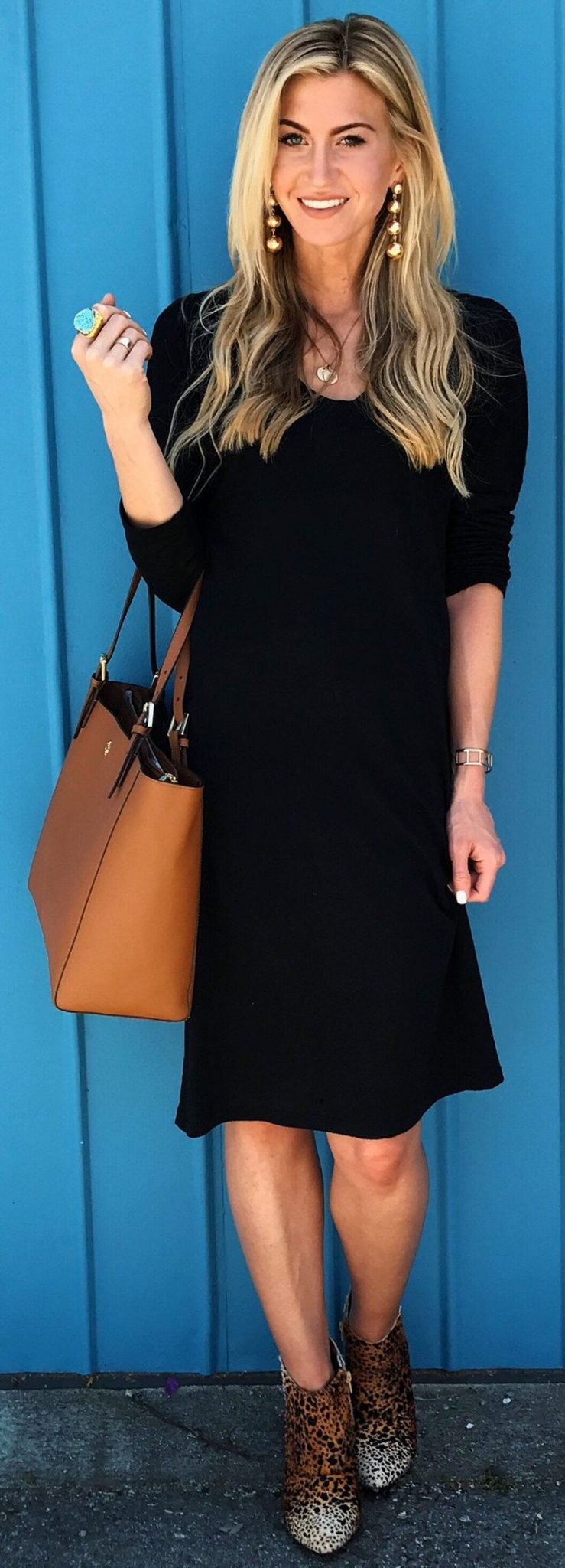 Stylish leather tote bags for work 52